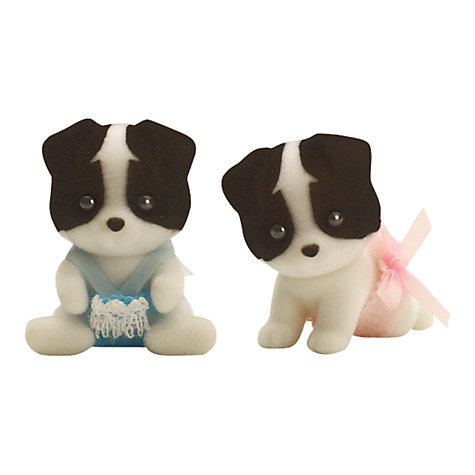 Buy Sylvanian Families Border Collie Twin Babies Online at johnlewis.com