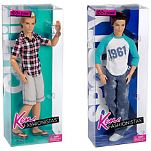 Buy Ken Fashionistas Doll, Assorted Online at johnlewis.com
