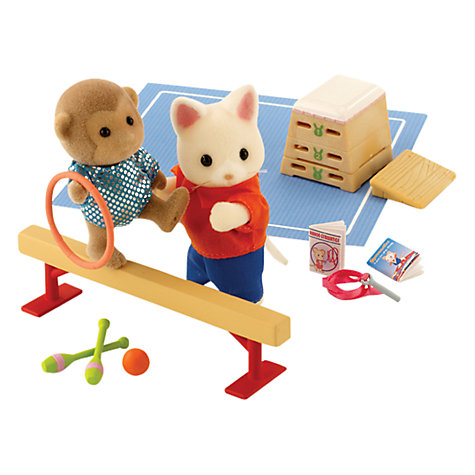 Buy Sylvanian Families Gymnastics Set Online at johnlewis.com