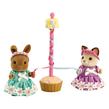 Buy Sylvanian Families Maypole & Dancers Online at johnlewis.com
