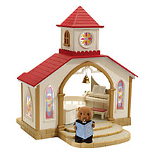 Buy Sylvanian Families Wedding Chapel With Vicar Online at johnlewis.com