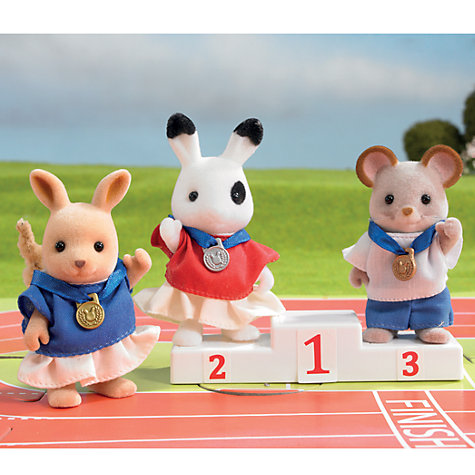 Buy Sylvanian Families Winners' Podium Online at johnlewis.com
