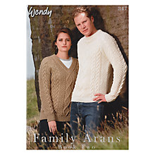 Buy Wendy Family Arans Book Two, 347 Online at johnlewis.com
