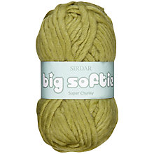 Buy Sirdar Big Softie Super Chunky Yarn, 50g Online at johnlewis.com