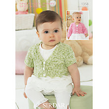 Buy Sirdar Snuggly Baby Speckle DK Leaflet, 1358 Online at johnlewis.com