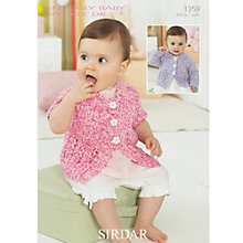 Buy Sirdar Snuggly Baby Speckle DK Leaflet, 1359 Online at johnlewis.com
