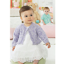 Buy Sirdar Snuggly Baby Speckle DK Leaflet, 1360 Online at johnlewis.com