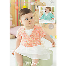 Buy Sirdar Snuggly Baby Speckle DK Leaflet, 1361 Online at johnlewis.com