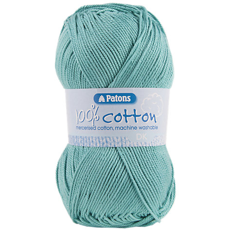 Buy Patons 100% Cotton DK Yarn, 100g Online at johnlewis.com