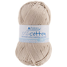 Buy Patons Cotton DK Yarn, 100g Online at johnlewis.com