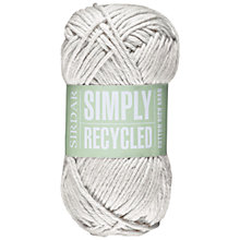 Buy Sirdar Simply Recycled Aran Knitting Yarn Online at johnlewis.com