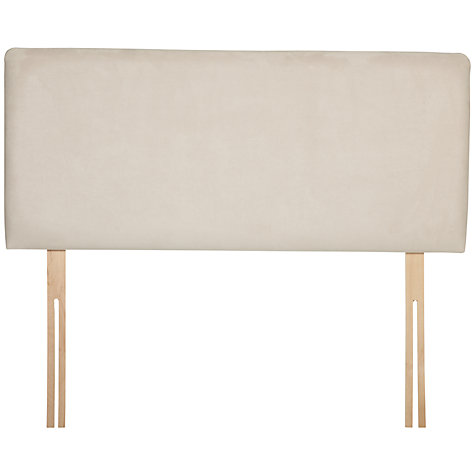 Buy John Lewis Taunton Headboard, Cream, Kingsize Online at johnlewis.com