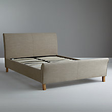 Buy John Lewis Heidi Bedstead, Wheat, Kingsize Online at johnlewis.com