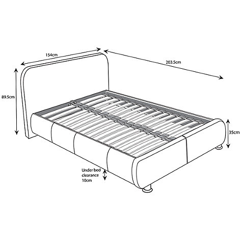 Buy John Lewis Keates Bedstead, Double Online at johnlewis.com