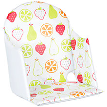 Buy John Lewis High Chair Fruits Print Insert, Multicoloured Online at johnlewis.com