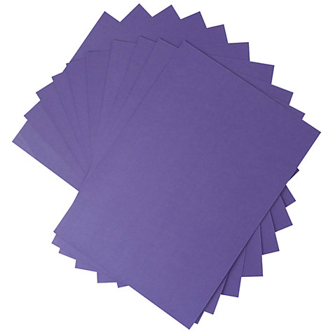 Buy John Lewis Plain Card, A4, Pack of 10 Online at johnlewis.com