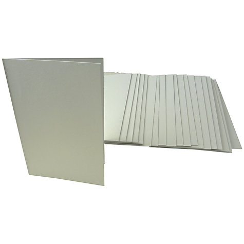 Buy John Lewis A6 Cards and Envelopes, Pack of 20 Online at johnlewis.com