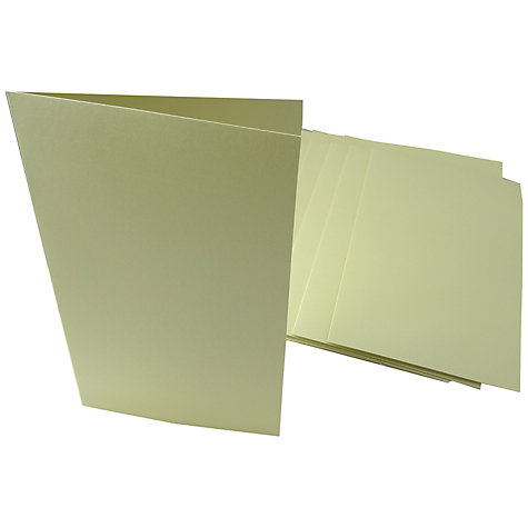 Buy John Lewis A5 Cards and Envelopes, Pack of 10 Online at johnlewis.com