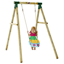 Buy Plum Bush Baby Wooden Single Swing Set Online at johnlewis.com