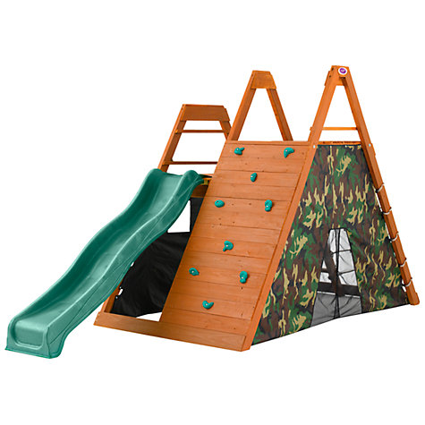 Buy Plum Climbing Pyramid Wooden Play Centre Online at johnlewis.com