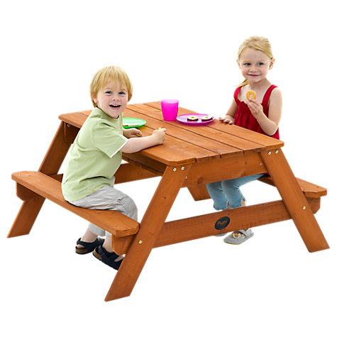 Buy Plum Wooden Sand Pit and Picnic Table Online at johnlewis.com