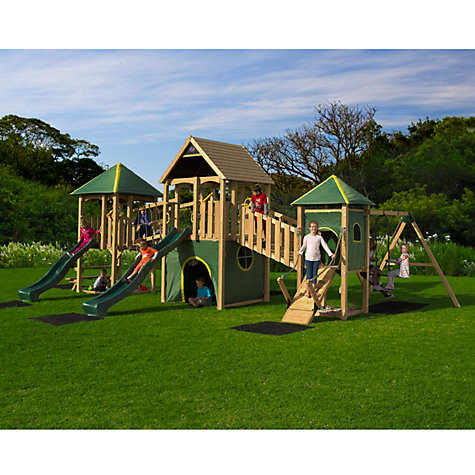 Buy Plum Wildebeest Giant Wooden Play Centre Online at johnlewis.com
