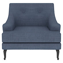 Buy Matthew Hilton for Case Sissinghurst Armchair, Steel Blue Online at johnlewis.com