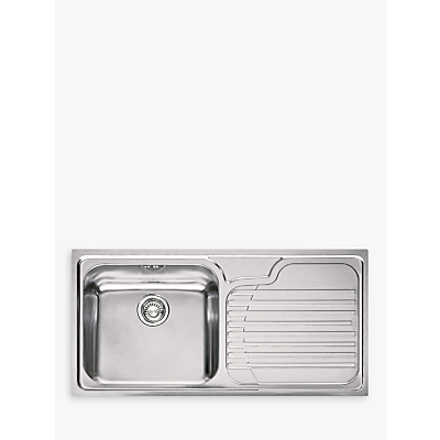 Franke Galassia Sink : Franke Galassia GAX 611 Sink with Left Hand Bowl Stainless Steel