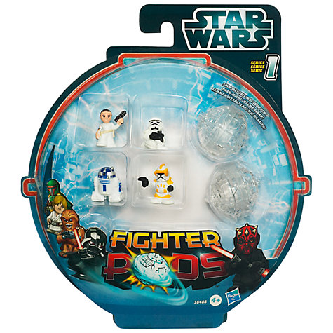 Buy Star Wars Fighter Pods, Series 1, Pack of 4, Assorted Online at johnlewis.com