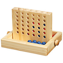 Buy John Lewis Four In A Row Travel Game Online at johnlewis.com