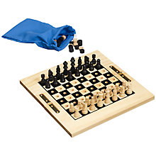 Buy John Lewis Travel Chess and Draughts Online at johnlewis.com