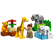 Buy LEGO Duplo Baby Zoo Online at johnlewis.com