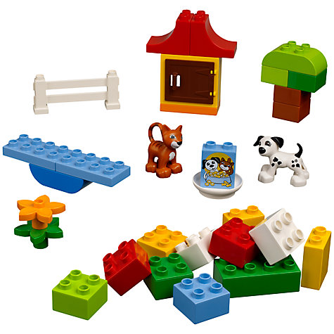 Buy LEGO Duplo Brick Box Online at johnlewis.com