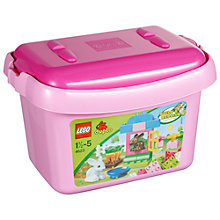 Buy LEGO DUPLO Pink Brick Box Online at johnlewis.com