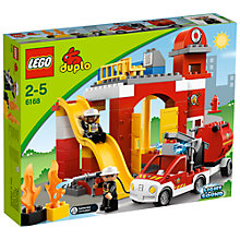 Buy LEGO Duplo Fire Station Online at johnlewis.com