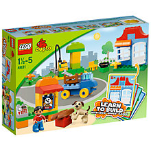 Buy LEGO Duplo My First Build Online at johnlewis.com