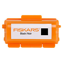 Buy Fiskars Continuous Stamp Ink Cartridge, Black Online at johnlewis.com