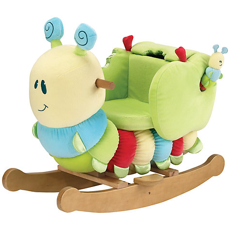 Buy Little Bird Told Me Curious Caterpillar Infant Rocker Online at johnlewis.com
