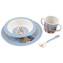 Buy Peter Rabbit Melamine Dinner Set Online at johnlewis.com