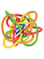 The Manhattan Toy Company Colour Burst Winkel Rattle