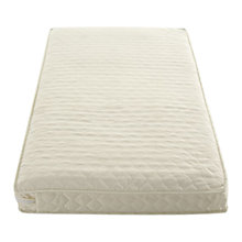 Buy John Lewis Pocket Sprung Cotbed Mattress, L120 x W60cm Online at johnlewis.com