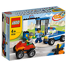 Buy LEGO Bricks & More Police Building Set Online at johnlewis.com