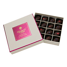 Buy Charbonnel et Walker Dark Chocolate English Rose & Violet Creams, 165g Online at johnlewis.com