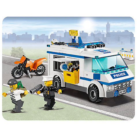 Buy LEGO City Police Prisoner Transport Online at johnlewis.com