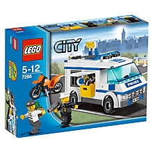 Buy Lego City Prisoner Transport Online at johnlewis.com