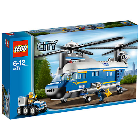 Buy LEGO City Heavy-Lift Police Helicopter Online at johnlewis.com