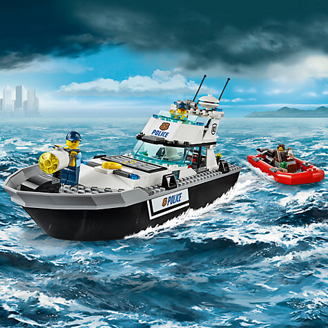 Buy LEGO City Police Patrol Boat Online at johnlewis.com