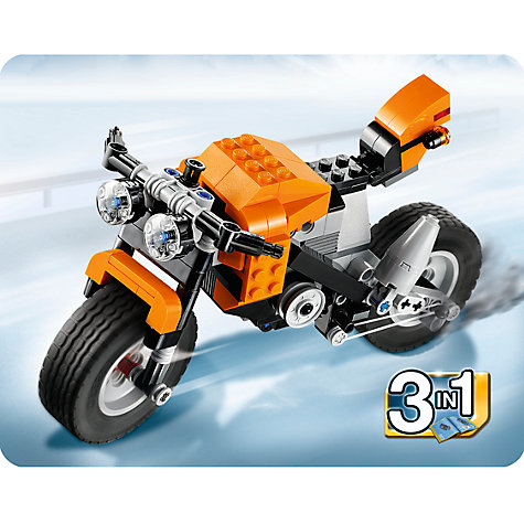 Buy LEGO Creator Street Rebel Online at johnlewis.com