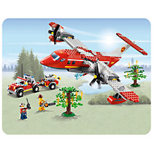 Buy Lego City Fire Aeroplane Online at johnlewis.com