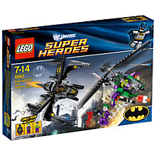 Buy Lego Super Heroes Batwing Battle Over Gotham City Online at johnlewis.com